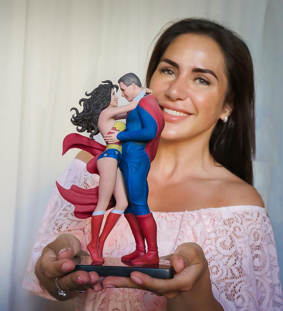 3D фигурка на заказ по фото